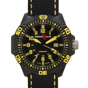 [アーマーライト]Armourlite 腕時計 Caliber Series Polycarbon Tritium Watch in Yellow AL604 gelb [並行輸入品]