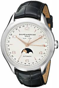 [ボーム&メルシエ]Baume & Mercier Clifton Analog Display Swiss Automatic Black BMMOA10055