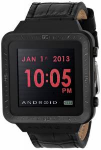 [アンドロイド]Android 腕時計 SmartWatch GTS Digital Quartz Black Watch AD721BK ユニセックス [並行輸入品]