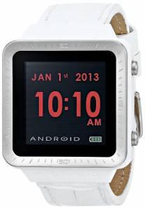 [アンドロイド]Android 腕時計 SmartWatch GTS Digital Quartz White Watch AD721BW ユニセックス [並行輸入品]