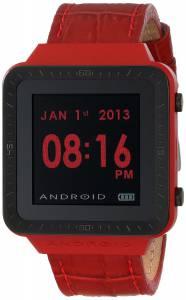 [アンドロイド]Android 腕時計 SmartWatch GTS Digital Quartz Red Watch AD721BR ユニセックス [並行輸入品]