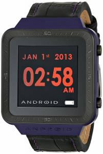 [アンドロイド]Android 腕時計 SmartWatch with Black Leather Band AD721BPU ユニセックス [並行輸入品]