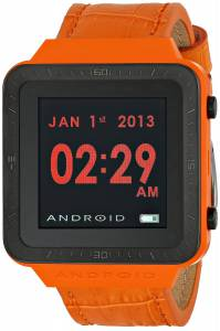 [アンドロイド]Android 腕時計 SmartWatch GTS Digital Quartz Orange Watch AD721BRG ユニセックス [並行輸入品]