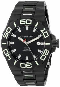 [アンドロイド]Android 腕時計 Bioluminescence Analog JapaneseAutomatic Silver Watch AD671BKK メンズ [並行輸入品]