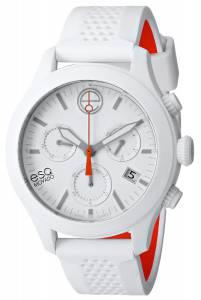 [イーエスキューモバード]ESQ Movado 腕時計 One Analog Display Swiss Quartz White Watch 07301459 メンズ [並行輸入品]