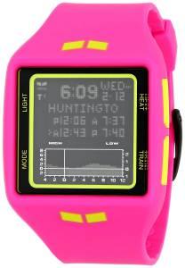 [ベスタル]Vestal 腕時計 Brig Tide & Train Digital Display Quartz Pink Watch BRG019 ユニセックス [並行輸入品]