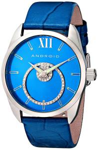 [アンドロイド]Android 腕時計 StarHalo with Swaroski Analog SwissQuartz Blue Watch AD761ABU レディース [並行輸入品]