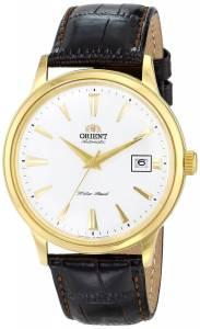 [オリエント]Orient 腕時計 Bambino Analog Display Japanese Automatic Brown Watch FER24003W0 メンズ [並行輸入品]