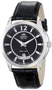 [オリエント]Orient 腕時計 Lexington Stainless Steel Watch with Black Leather Band FEV0M002B0 メンズ [並行輸入品]