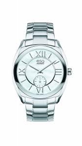 [イーエスキューモバード]ESQ Movado ESQ Origin Analog Display Swiss Quartz Silver 07101457