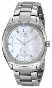 [イーエスキューモバード]ESQ Movado ESQ Origin Analog Display Swiss Quartz Silver 07101460