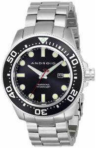 [アンドロイド]Android 腕時計 Divemaster 200 Analog JapaneseQuartz Silver Watch AD765BK メンズ [並行輸入品]
