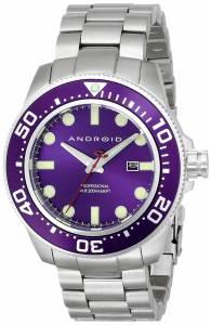 [アンドロイド]Android 腕時計 Divemaster Analog JapaneseQuartz Silver Watch AD765BPU メンズ [並行輸入品]