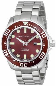 [アンドロイド]Android 腕時計 Divemaster Analog JapaneseQuartz Silver Watch AD765BR メンズ [並行輸入品]