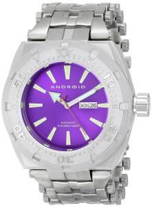 [アンドロイド]Android 腕時計 Millipede Analog JapaneseAutomatic Silver Watch AD757BPU メンズ [並行輸入品]