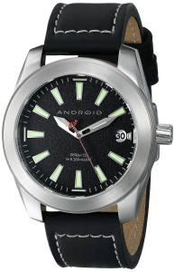 [アンドロイド]Android 腕時計 Skyguardian Analog Display Japanese Quartz Black Watch AD742BK メンズ [並行輸入品]