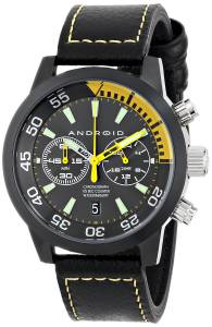 [アンドロイド]Android 腕時計 Antiforce Analog JapaneseQuartz Black Watch AD727BKY メンズ [並行輸入品]