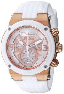 [マルコ]MULCO 腕時計 Ilusion Analog Display Swiss Quartz White Watch MW3-12140-013 ユニセックス [並行輸入品]