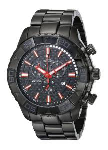 [スイスプレシマックス]Swiss Precimax Valor Elite Analog Display Swiss Quartz Black SP13362