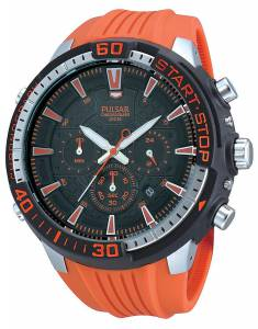[パルサー]Pulsar 腕時計 Gents X Chronograph Orange and Black PT3511X1 Pulsar X [並行輸入品]