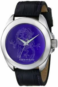 [アンドロイド]Android 腕時計 Tattooed Dragon Analog Display Japanese Quartz Black Watch AD758APU メンズ [並行輸入品]