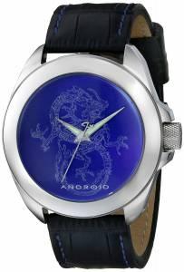 [アンドロイド]Android 腕時計 Tattooed Dragon Analog Display Japanese Quartz Black Watch AD758ABU メンズ [並行輸入品]