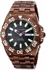 [アンドロイド]Android 腕時計 Corsair Analog JapaneseAutomatic Brown Watch AD702BBN メンズ [並行輸入品]