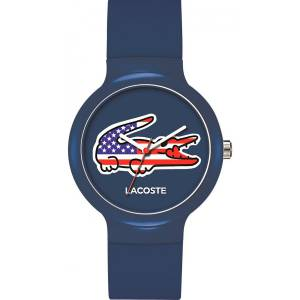 [ラコステ]Lacoste 腕時計 Watches Goa Stars And Stripes Watch With Blue Dial 2020073 ユニセックス [並行輸入品]