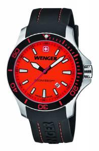 [ウェンガー]Wenger 腕時計 01.0641.111 Seaforce Orange Dial Dive 010641111 メンズ [並行輸入品]