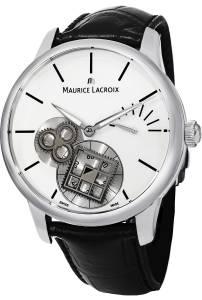 [モーリス ラクロア]Maurice Lacroix Masterpiece Square Wheel Vintage White MP7158-SS001-101