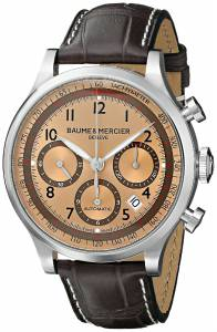 [ボーム&メルシエ]Baume & Mercier Capeland Analog Display Mechanical Hand Wind Brown MOA10045