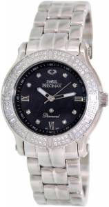 [スイスプレシマックス]Swiss Precimax Tribeca Diamond Analog Display Swiss Quartz SP13330