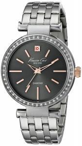 [ケネスコール]Kenneth Cole New York 腕時計 Analog Display Quartz Black Dial Silver Watch KC0038 レディース [並行輸入品]