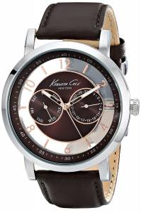 [ケネスコール]Kenneth Cole New York Dress Sport Analog Display Analog Quartz Brown KC8080