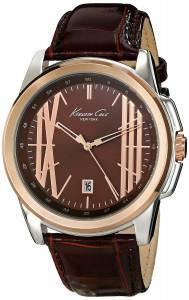 [ケネスコール]Kenneth Cole New York  Classic Analog Display Analog Quartz Brown Watch KC8096