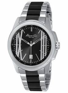 [ケネスコール]Kenneth Cole New York Classic Analog Display Analog Quartz Silver Watch KC9385