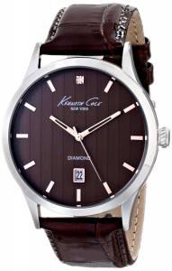 [ケネスコール]Kenneth Cole New York Rock Out Analog Display Analog Quartz Brown Watch KC8070