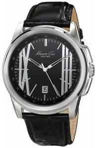[ケネスコール]Kenneth Cole New York  Classic Analog Display Analog Quartz Black Watch KC8095