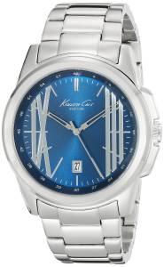 [ケネスコール]Kenneth Cole New York Classic Analog Display Analog Quartz Silver Watch KC9386