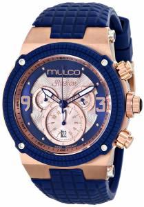 [マルコ]MULCO 腕時計 Ilusion Analog Display Swiss Quartz Blue Watch MW3-12140-043 ユニセックス [並行輸入品]