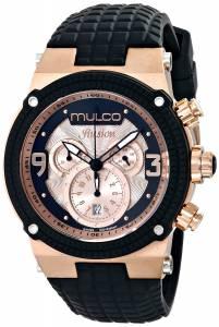 [マルコ]MULCO 腕時計 Ilusion Analog Display Swiss Quartz Black Watch MW3-12140-023 ユニセックス [並行輸入品]