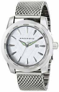 [アンドロイド]Android 腕時計 Caprice Analog Display Japanese Quartz Silver Watch AD768AS メンズ [並行輸入品]