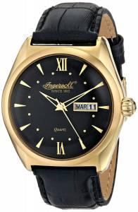 [インガソール]Ingersoll 腕時計 Hanover Analog Display Japanese Quartz Black Watch INQ002BKGD メンズ [並行輸入品]