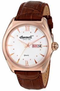 [インガソール]Ingersoll 腕時計 Hanover Analog Display Japanese Quartz Brown Watch INQ002SLRS メンズ [並行輸入品]