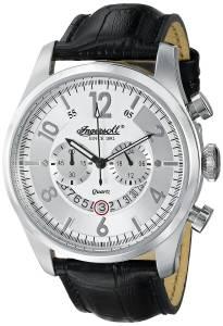 [インガソール]Ingersoll 腕時計 Chelsea Analog Display Japanese Quartz Black Watch INQ007WHSL メンズ [並行輸入品]