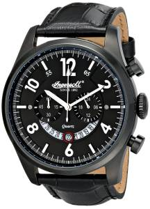 [インガソール]Ingersoll 腕時計 Chelsea Analog Display Japanese Quartz Black Watch INQ007BKBK メンズ [並行輸入品]