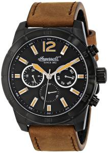 [インガソール]Ingersoll 腕時計 Lincoln Analog Display Japanese Quartz Brown Watch INQ014BRBK メンズ [並行輸入品]