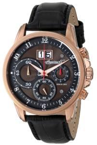 [インガソール]Ingersoll 腕時計 Soho Analog Display Japanese Quartz Black Watch INQ015BRRS メンズ [並行輸入品]