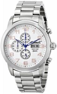 [インガソール]Ingersoll 腕時計 Mount Analog Display Japanese Quartz Silver Watch INQ018WHSL メンズ [並行輸入品]