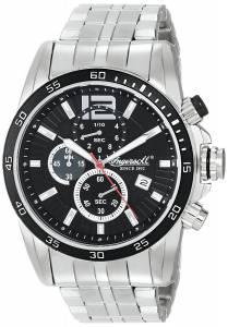 [インガソール]Ingersoll 腕時計 Hartford Analog Display Japanese Quartz Silver Watch INQ019BKSL メンズ [並行輸入品]